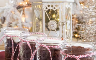 Brownie Desserts in a Jar