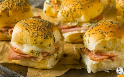 Holiday Ham & Cheese Sliders