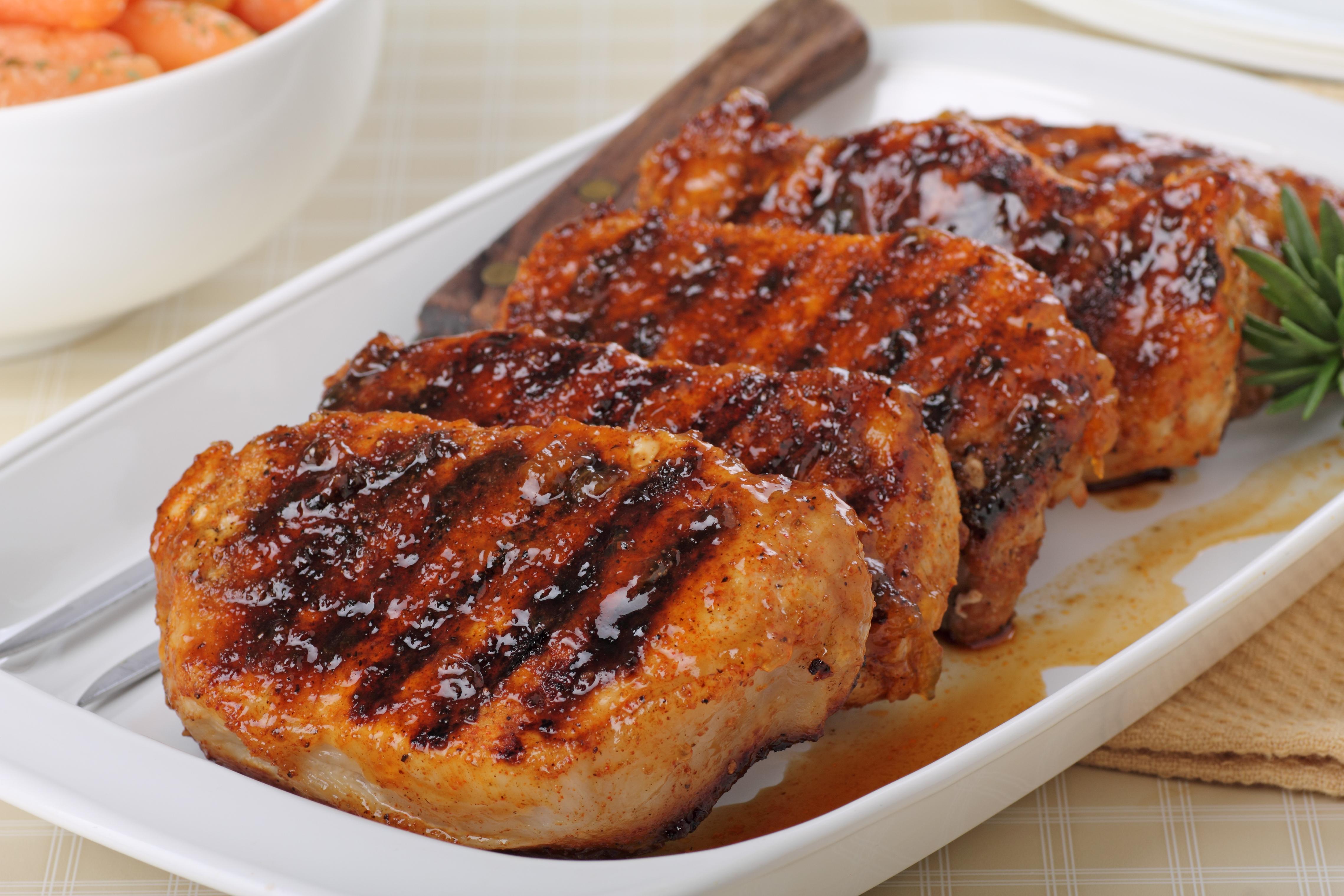 grilled pork chop recipes with brown sugar Grilled Brown Sugar Pork Chops - Alisons Pantry Delicious Living Blog