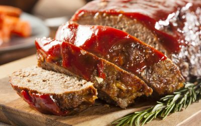 Saturday Meatloaf with Sauce