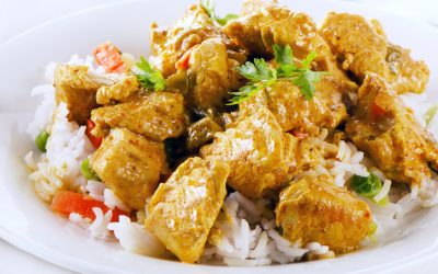 Slow Cooker Spicy Curry Chicken