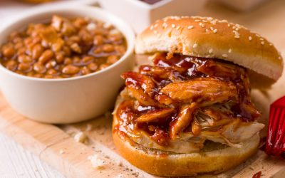 Slow Cooker Tangy BBQ Chicken