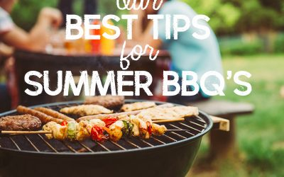 Our Best Tips for Summer BBQ's