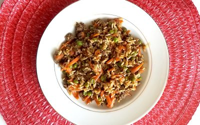 One-Pan Asian Beef & Rice Skillet