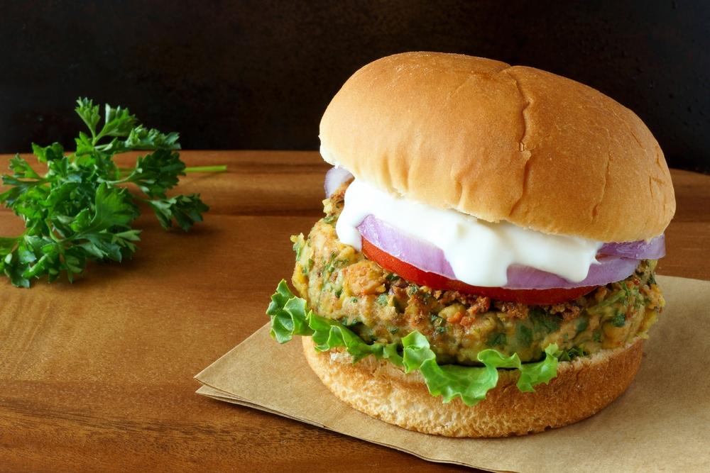 Simplified Veggie Burger