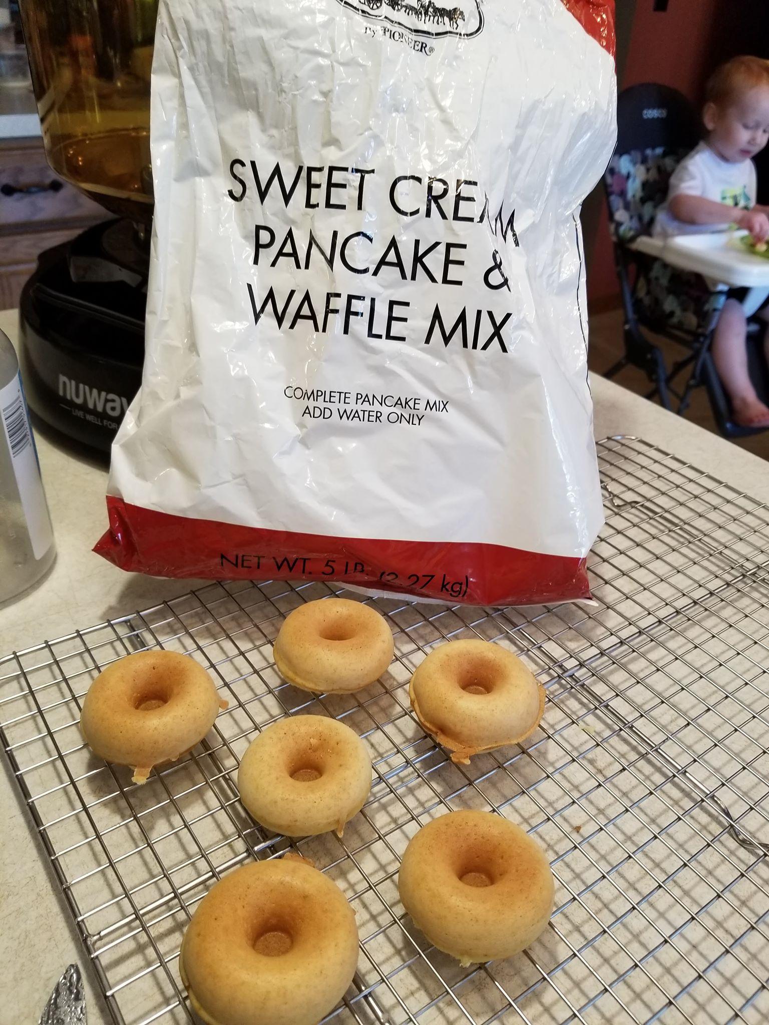 Sweet Cream Donuts
