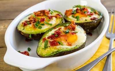 Baked Avocado and Eggs
