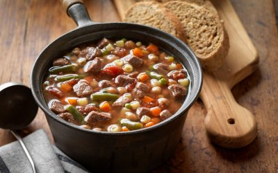 Lazy Day Beef & Vegetable Soup