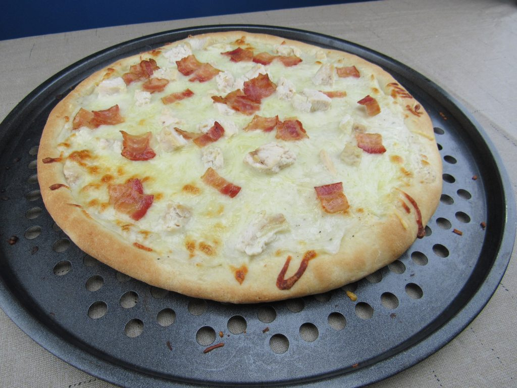 Becky's Bacon Ranch Pizza