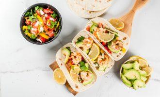 Costa Vida Baja Shrimp Tacos