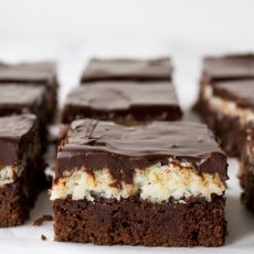 Over The Moon Macaroon Brownies