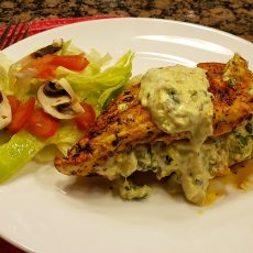 Spinach Artichoke Chicken