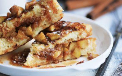 cinnamon apple stuffed french toast