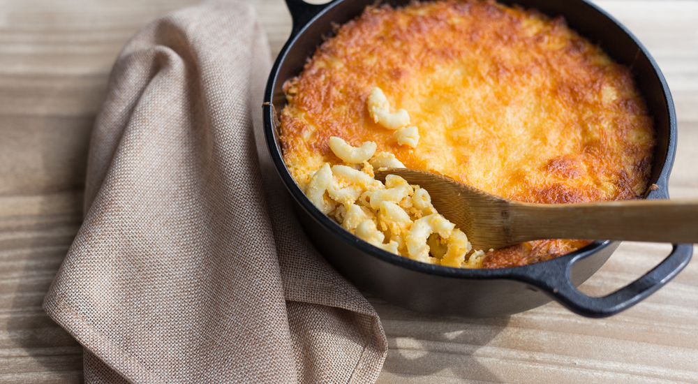 dutch oven mac and cheese