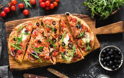 Gluten Free Flatbread Pizza