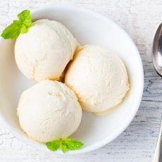 morning moo's vanilla ice cream