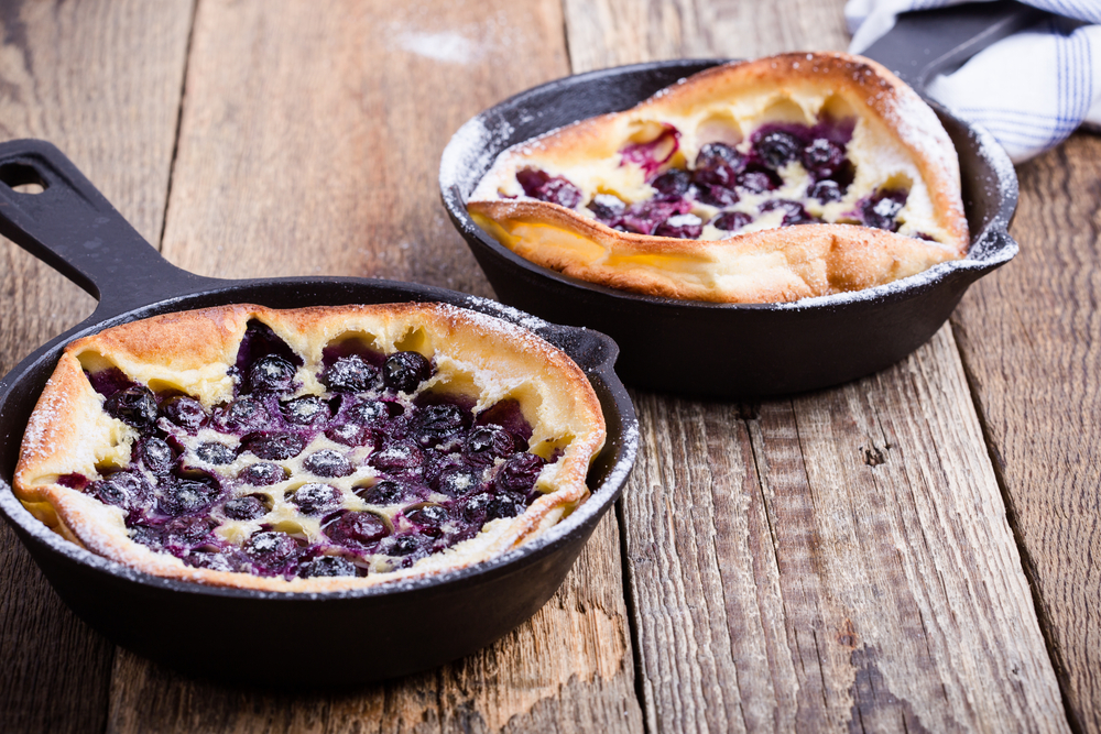 Berry-Filled Dutch Baby For One