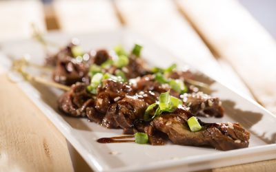 Asian Inspired Flat Iron Steak