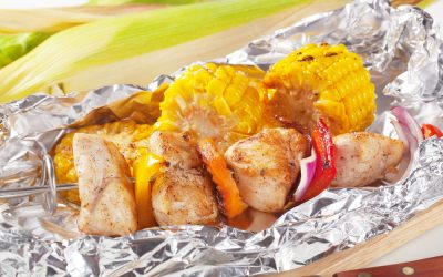 Cajun Chicken in Foil