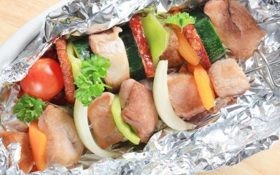 Pork & Vegetable Foil Packet