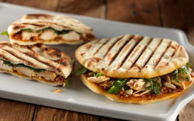 3 Savory Naan Sandwiches