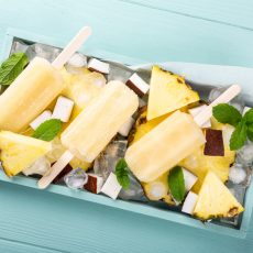 pineapple coconut ice pops
