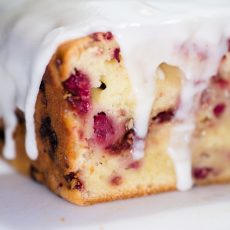 raspberry lemon quick bread