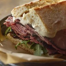 Roast Beef Onion Marmalade Sandwich