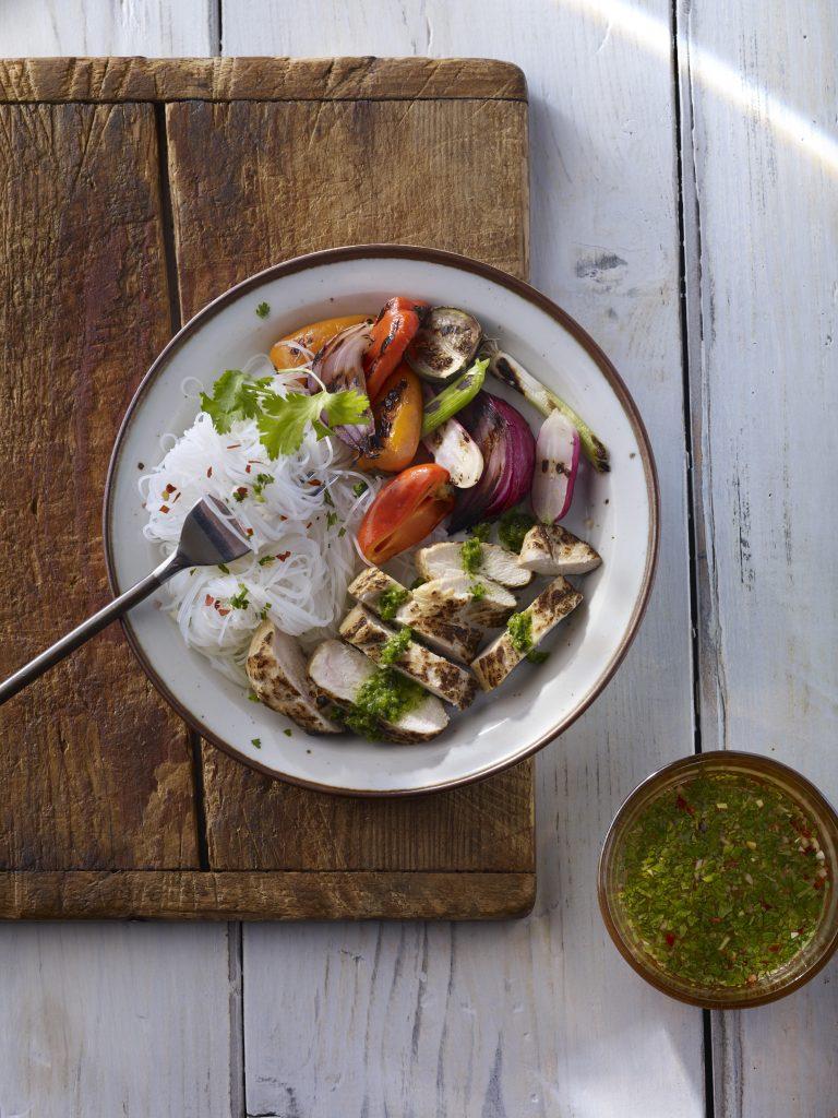 thai chicken cilantro sauce