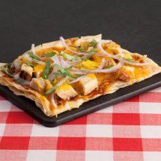 BBQ Chicken Phyllo Flatbread Pizza