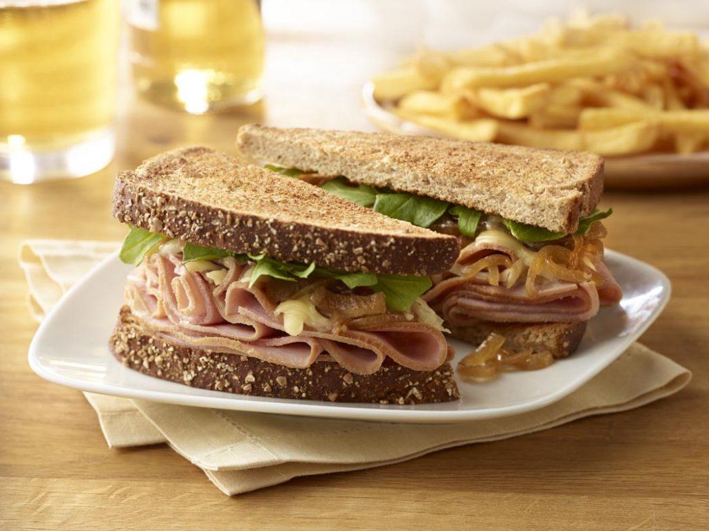 easy ham sandwich