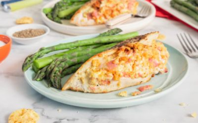 Ham & Asiago Stuffed Chicken Breasts