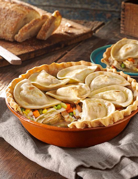 Pierogy Pot Pie
