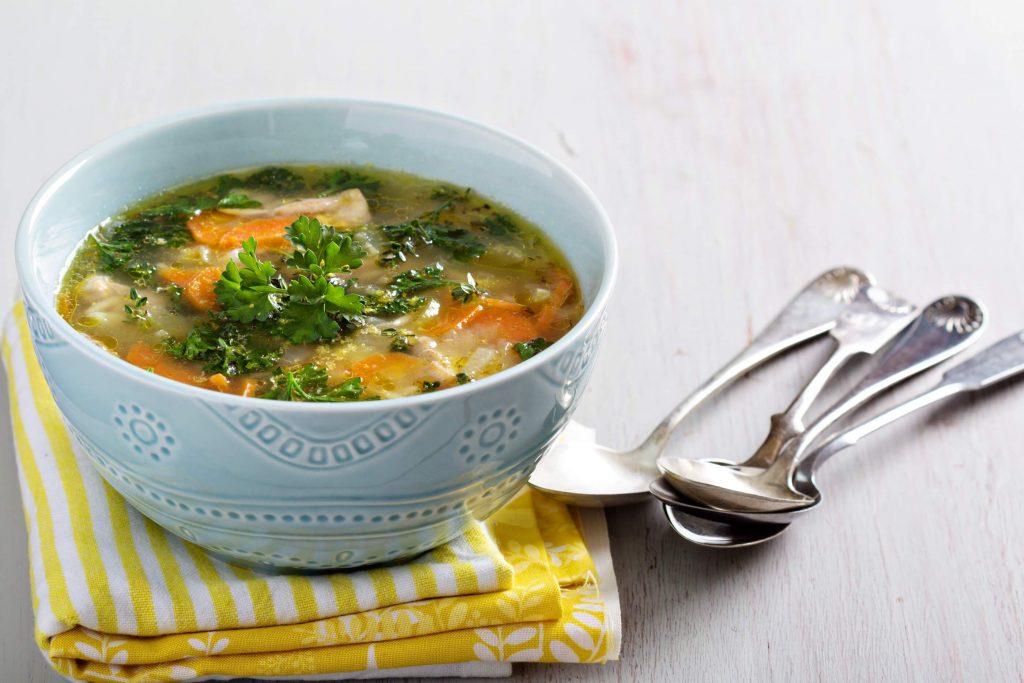 True Lemon Chicken Orzo Soup