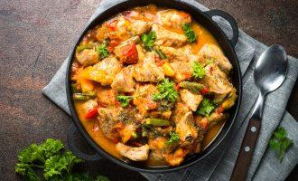 classic pork stew