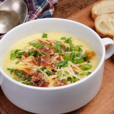 creamy loaded baked potato soup
