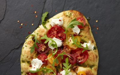 Naan Pizza 2 Ways
