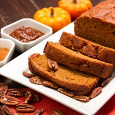 perfect pumpkin bread using cookie mix