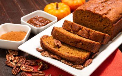 perfect pumpkin bread using cookie mix