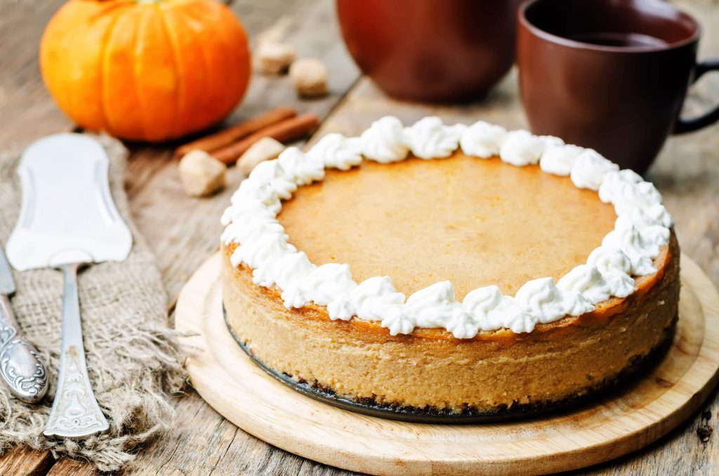 pumpkin cheesecake with true lemon