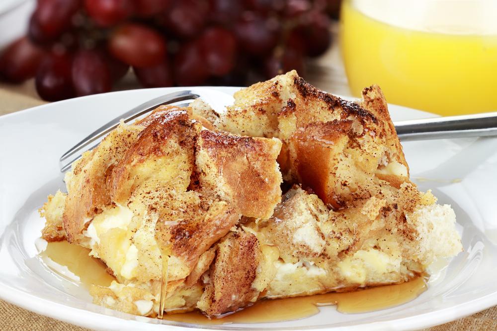 pumpkin cream cheese french toast casserole