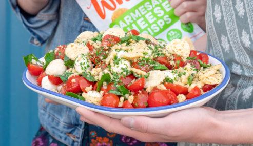 whisps caprese salad