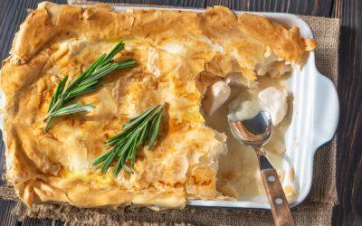Chicken Phyllo Pie
