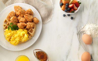 Chicken N' Waffle Bites