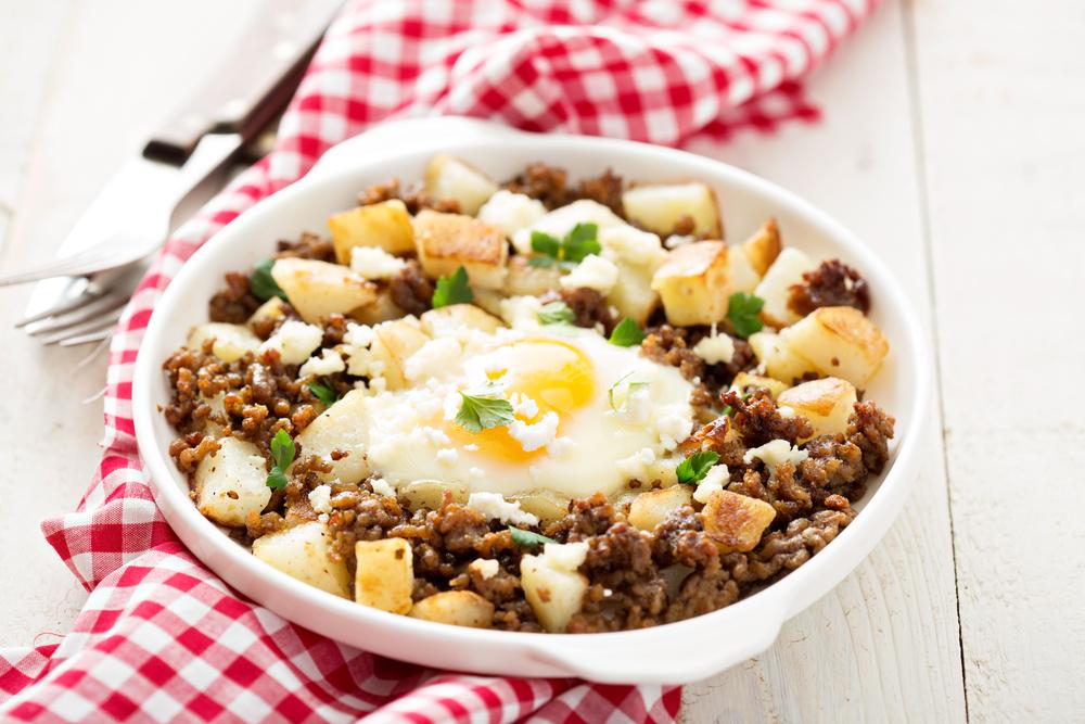 Sausage, Potato, and Egg Breakfast Skillet