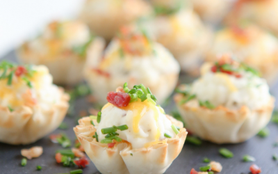 Two Phyllo Appetizers