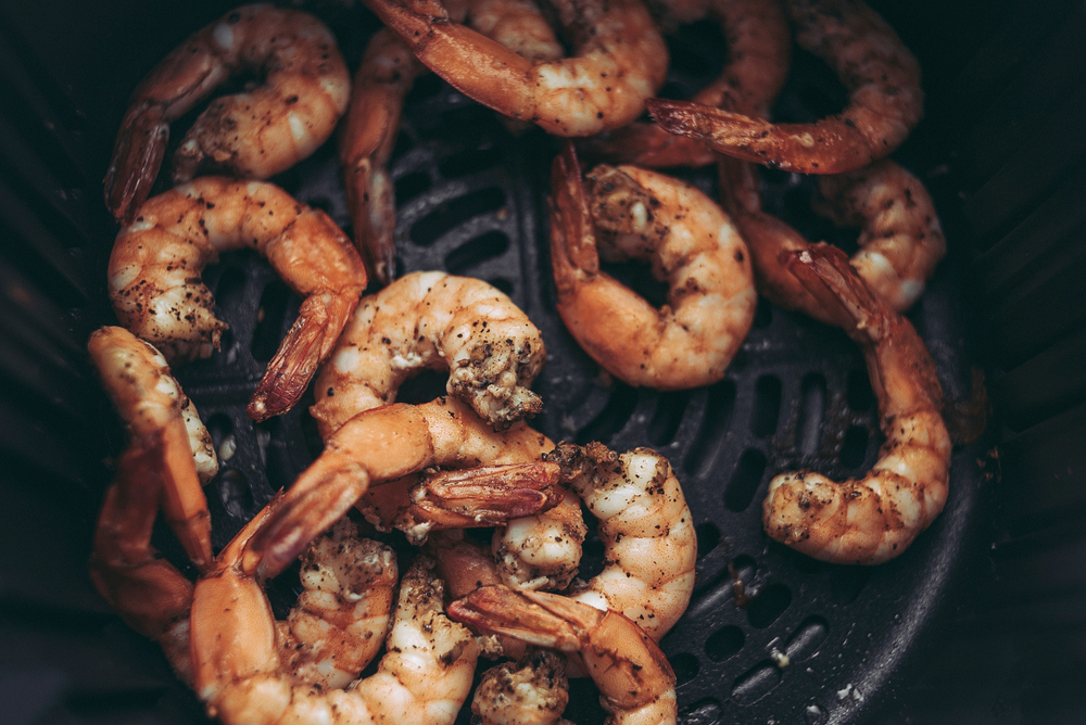 air fryer garlic shrimp
