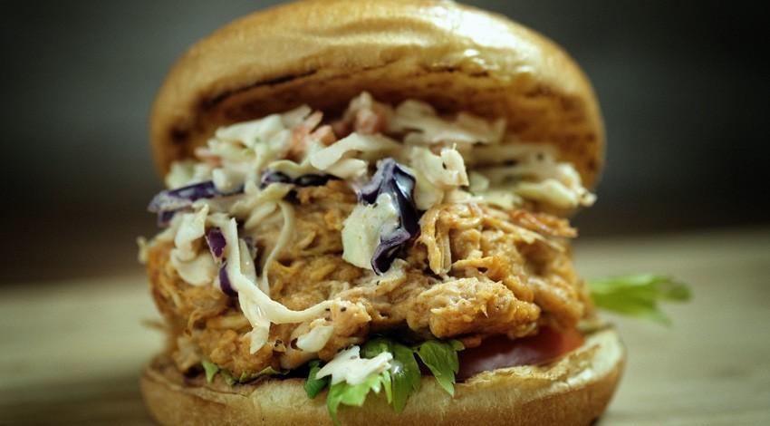 vanee buffalo chicken sandwich