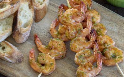 Shrimp Choripan