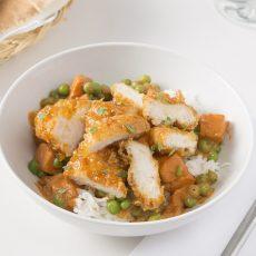 Masala Tempura Chicken & Vegetables